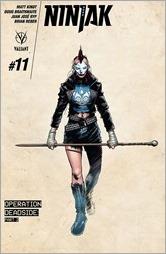 Ninjak #11 Cover - Hairsine Design Variant
