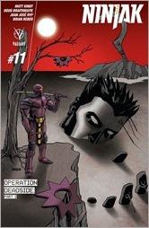 Ninjak #11 Cover - Johnson Variant