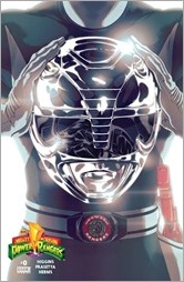 Mighty Morphin Power Rangers #0 Cover - Black