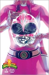 Mighty Morphin Power Rangers #0 Cover - Pink