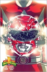 Mighty Morphin Power Rangers #0 Cover - Red