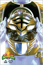 Mighty Morphin Power Rangers #0 Cover - White