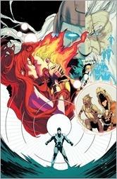 Uncanny Inhumans #5 Cover - Anka Story Thus Far Variant