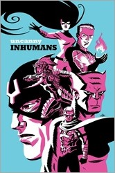Uncanny Inhumans #5 Cover - Cho Variant