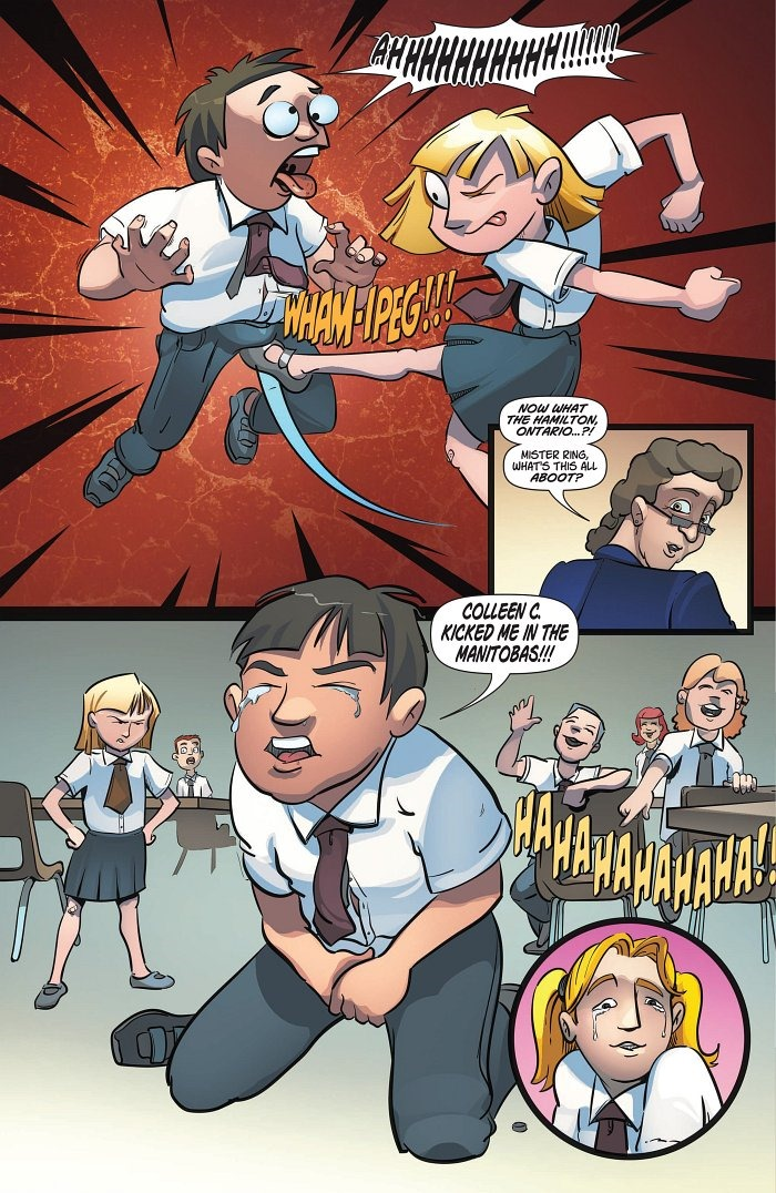 kevin smiths yoga hosers comic debuts at sundance