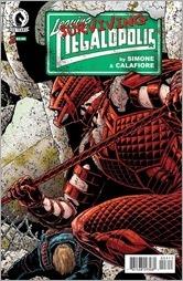 Leaving Megalopolis: Surviving Megalopolis #3 Cover