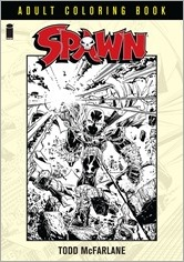 Spawn Adult Coloring Book Cover