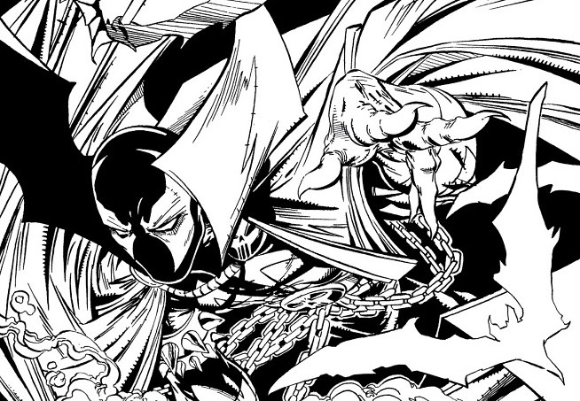 Spawn adult coloring book coming in april from image comics for Spawn coloring pages