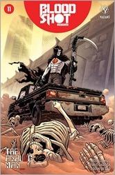 Bloodshot Reborn #11 Cover - Level Variant