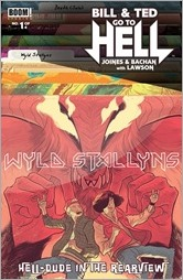 Bill & Ted Go to Hell #1 Cover B - Faerber Variant