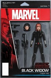 Black Widow #1 Cover - Christopher Action Figure Variant