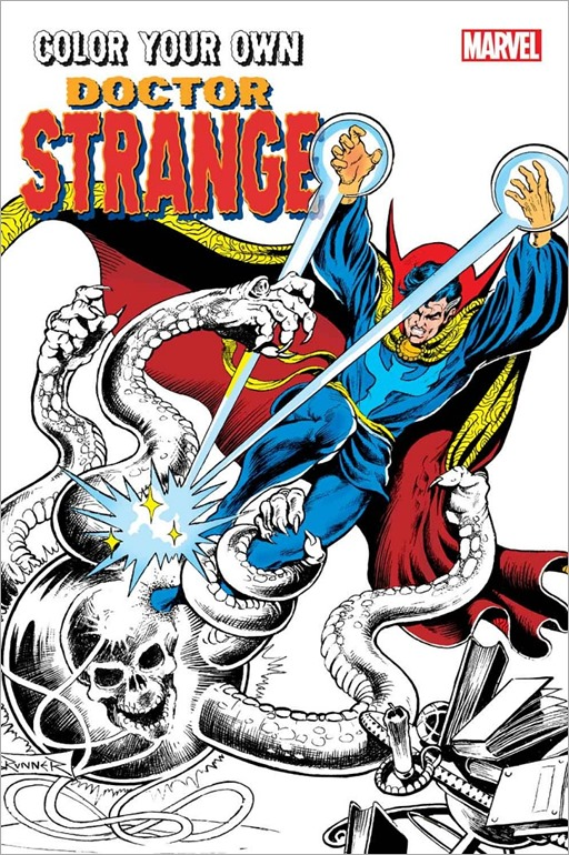 Color Your Own Doctor Strange Cover