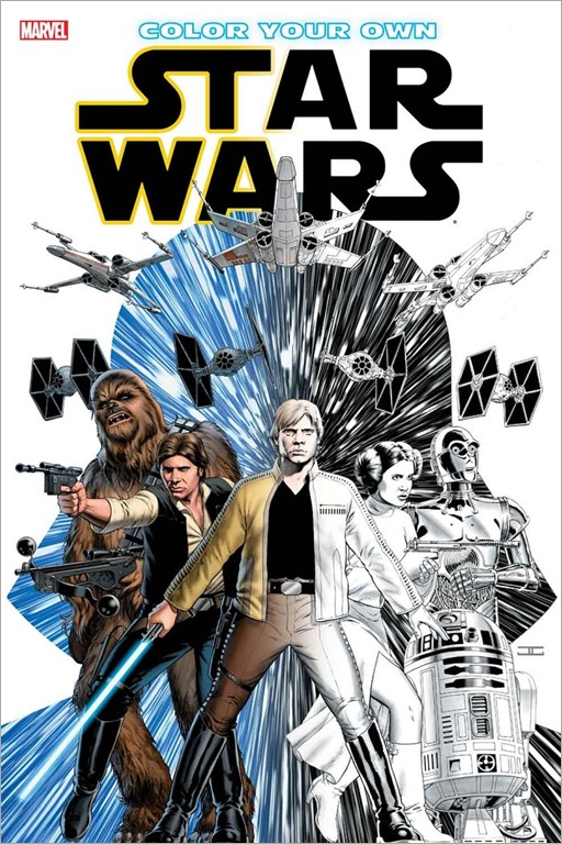 Color Your Own Star Wars Cover