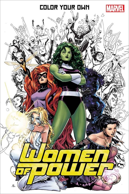 Color Your Own Women of Power Cover