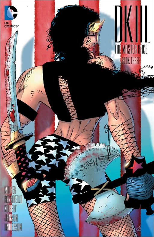 Dark Knight III: The Master Race #3 - 1 in 100 variant cover by Frank Miller