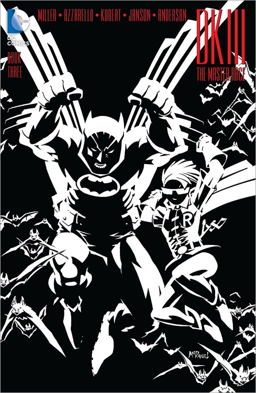 Dark Knight III: The Master Race #3 - 1 in 10 variant cover by Scott McDaniel