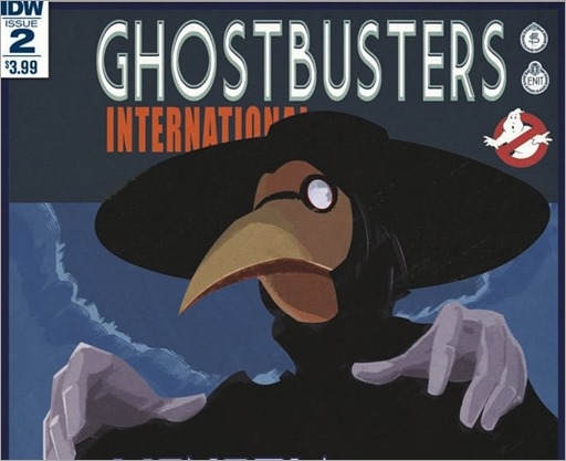 Ghostbusters International #2