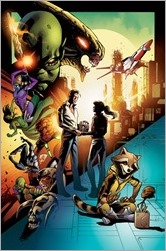 Guardians of the Galaxy #6 Cover - Schiti Story Thus Far Variant