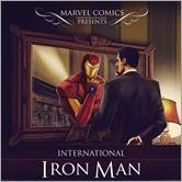International Iron Man #1 Cover - D'Alfonso Hip-Hop Variant