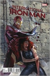 International Iron Man #1 Cover - Dell'Otto Variant