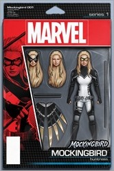 Mockingbird #1 Cover - Christopher Action Figure Variant