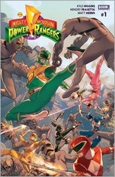 Mighty Morphin Power Rangers #1 Cover A