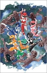 Mighty Morphin Power Rangers #1 Cover D - Nguyen Variant