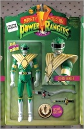 Mighty Morphin Power Rangers #1 Cover F - Action Figure Variant