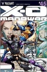 X-O Manowar #45 Cover A - Jimenez