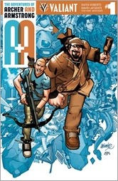 A&A: The Adventures of Archer & Armstrong #1 Cover A - Lafuente