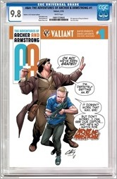 A&A: The Adventures of Archer & Armstrong #1 Cover - Henry CGC Variant