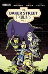 The Baker Street Peculiars #1 Cover