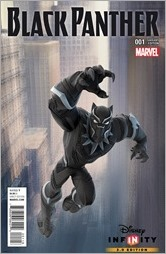 Black Panther #1 Cover - Disney Infinity Variant