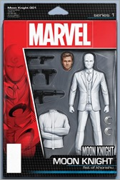 Moon Knight #1 Cover - Christopher Action Figure Variant