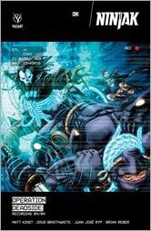 Ninjak #13 Cover A - Braithwaite