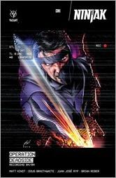 Ninjak #13 Cover B - Haley