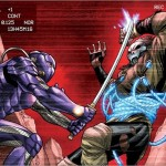 Shadowman vs. Ninjak in Ninjak #13 – Operation: Deadside Pt. 4