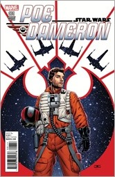 Star Wars: Poe Dameron #1 Cover - Cassaday Variant