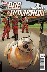 Star Wars: Poe Dameron #1 Cover - Quinones BB-8 Variant