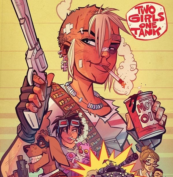 Free Comic Book Day Tank Girl: First Look At Tank Girl: Two Girls One Tank #1