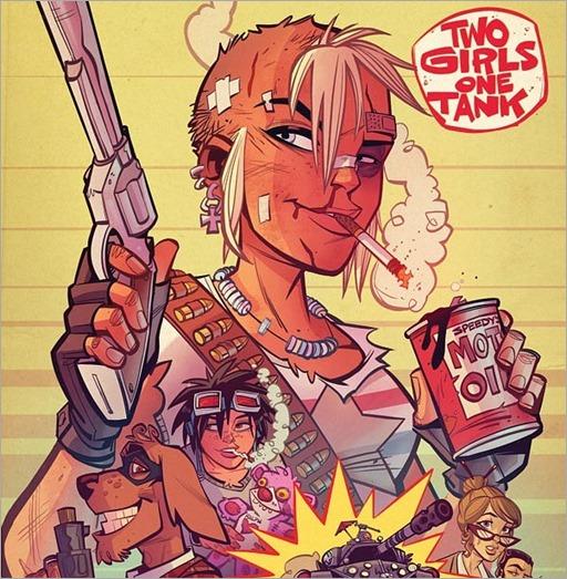 Tank Girl: Two Girls One Tank #1