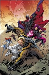 Uncanny X-Men #6 Cover - Lashley Connecting Variant