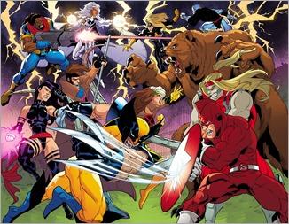 X-Men '92 #1 Preview 1