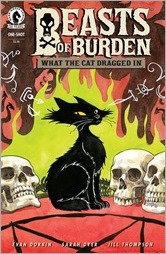 Beasts of Burden: What The Cat Dragged In Cover