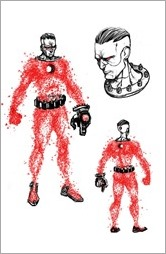 4001 A.D.: BLOODSHOT #1 – Character Design Variant by Ryan Lee