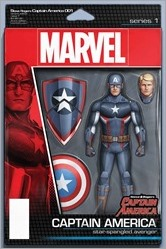 Captain America: Steve Rogers #1 Cover - Christopher Action Figure Variant