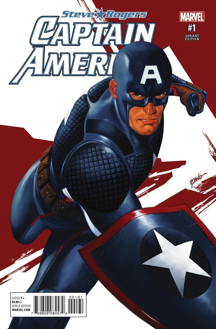 First look at captain america steve rogers 1 coming in may - Image captain america ...