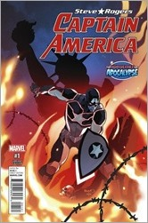 Captain America: Steve Rogers #1 Cover - Renaud AoA Variant