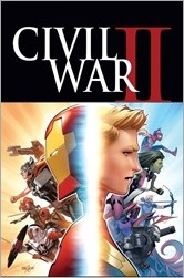 Civil War II #1 Cover - Marquez Variant