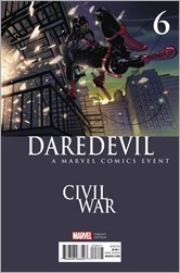 Daredevil #6 Cover - Ferry Civil War Variant